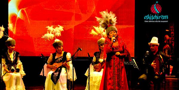 Türk Dünyası Kültür Başkenti Eskişehir'de etkinlikler sürüyor