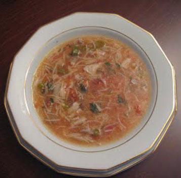 milli yemeklerimizdenTerbiyeli şehriye çorbası