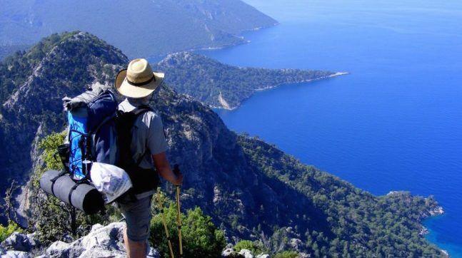 Türkiye'nin en güzel manzaralı yürüyüş yolu ve trekking rotası: Likya Yolu