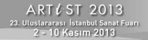 """23. Uluslararası istanbul Sanat Fuarı """"Artist 2013"""" açılıyor"""