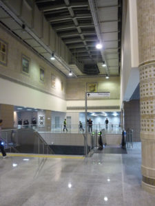 Marmaray'ın açılışı - Yenikapı istasyonundaki Marmaray tüneli ve bekleme salonları-