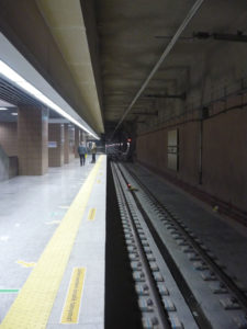 Marmaray'ın açılışı - Yenikapı istasyonundaki Marmaray tüneli ve tren yolu