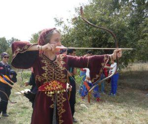 Genç Osmanlı Okçuları meydana indi