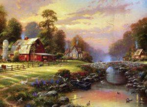 Ressamın hayal dünyası, Resim sanatı