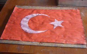 ebru sanatında türk bayrağı yapım teknikleri, sezai temel