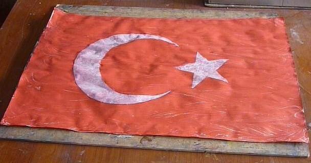 Ebruli Türk Bayrağı nasıl yapılır?