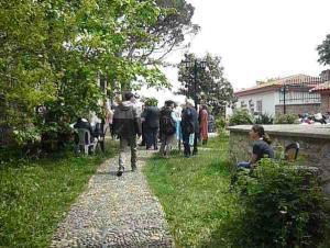 Özbekler Tekkesi'nde, Ebru Kongresi meltemi esti