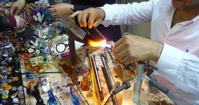 cam sanatı, cam yüzük yapım tekniği