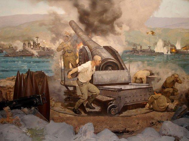 çanakkale Savaşı Seyit Onbaşı Hobitat