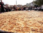 Dünyanın en büyük böreği, kaç kilo pişirildi?