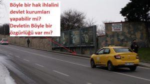 kaldırım işgali,belediye kaldırımları işgal eden reklam panoları