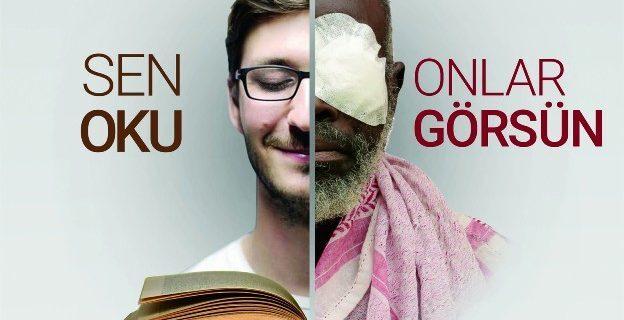 """""""Sen oku, Onlar görsün"""" temalı kitap kermesi"""