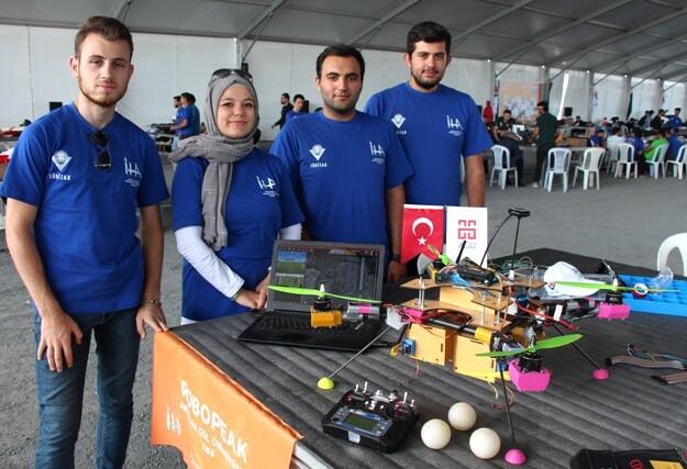 agu- Abdullah Gül Üniversitesi iha proje ekibi queenbee adlı iha ve kumandası